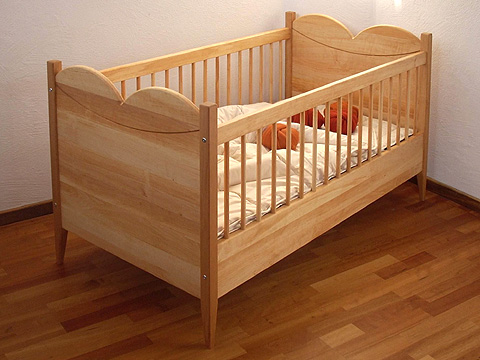 naturm bel babybett purpur m belschmiede. Black Bedroom Furniture Sets. Home Design Ideas