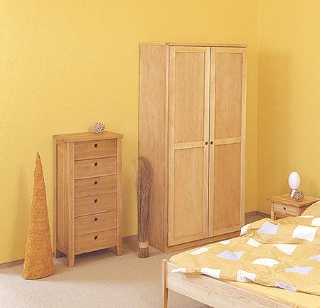naturm bel schrankserie bella vita aus erlenholz massiv m belschmiede. Black Bedroom Furniture Sets. Home Design Ideas