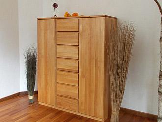 Biom bel und naturm bel aus massiver erle m belschmiede for Schreibtisch aus echtholz