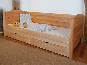 kinderzimmer naturm bel massive bio erle m belschmiede. Black Bedroom Furniture Sets. Home Design Ideas