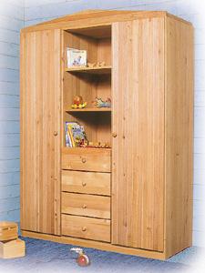 Kinderzimmermöbel holz  Kinderzimmer Naturmöbel massive Bio-Erle | Möbelschmiede