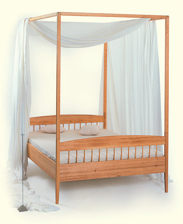 die m belschmiede himmelbett sonata und naturbetten umbria. Black Bedroom Furniture Sets. Home Design Ideas