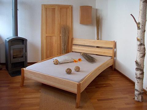 naturbetten und nachttische olivia aus erlenholz. Black Bedroom Furniture Sets. Home Design Ideas